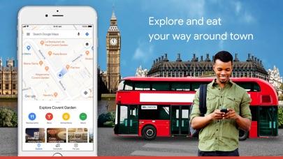 Screenshot for Google Maps - Transit & Food in Belgium App Store
