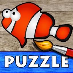 Puzzles Ocean: Kids & Girls 2+
