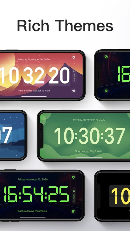 DClock - Digital Flip Clock screenshot-3
