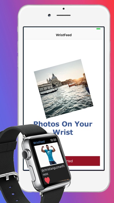 WristFeed for Instagram app image