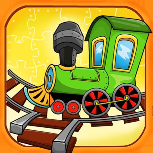 Train Mix головоломка пасьянс