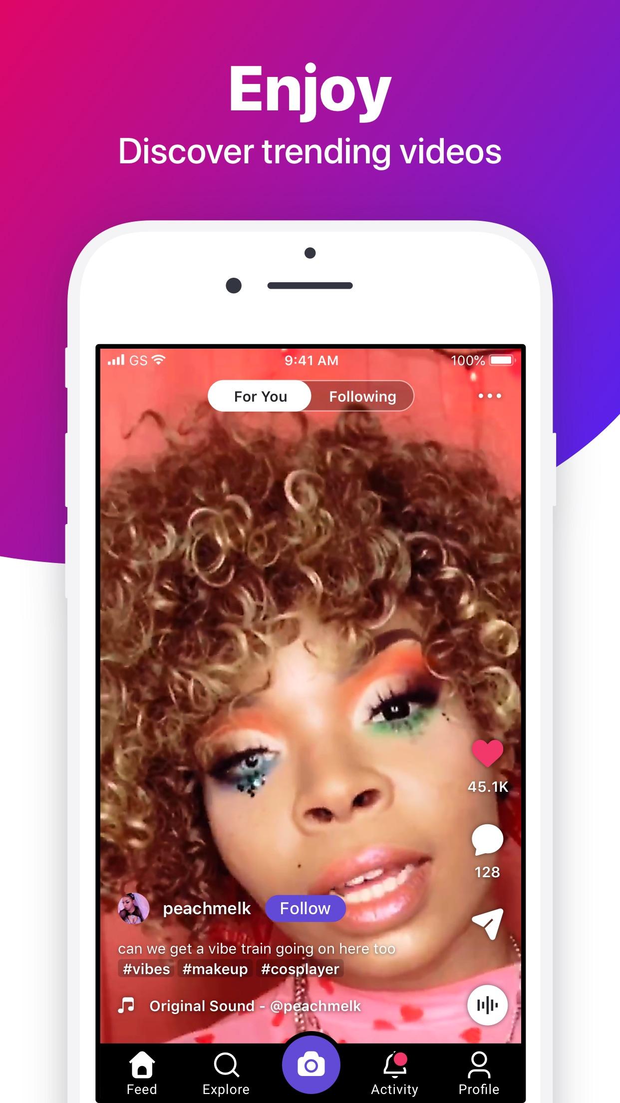 Screenshot do app Dubsmash - Videos for everyone