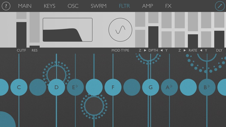 Ribbons : Touch Instrument screenshot-3