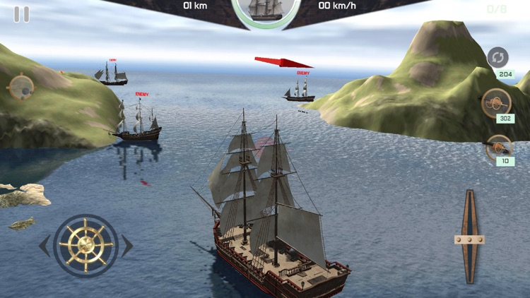 Online Warship Simulator screenshot-8