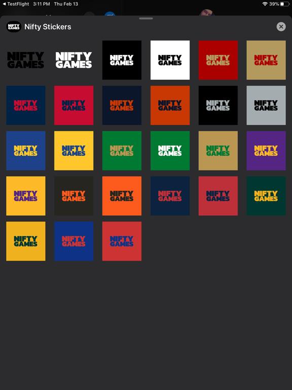 Nifty Stickers screenshot 4