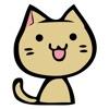 猫イラストステッカー