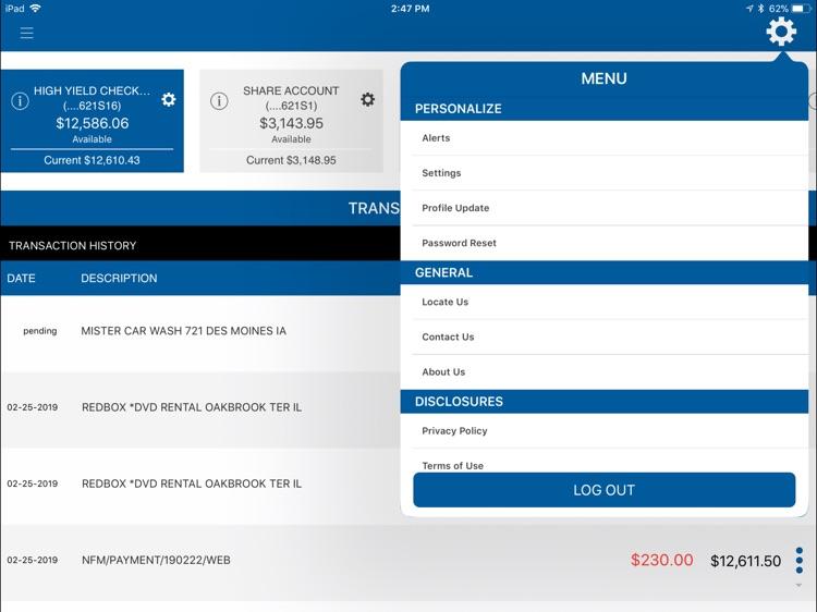 Premier CU Mobile for iPad screenshot-4