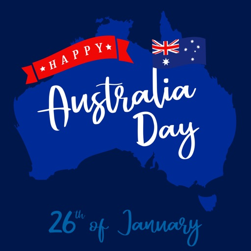 Australian Day Stickers
