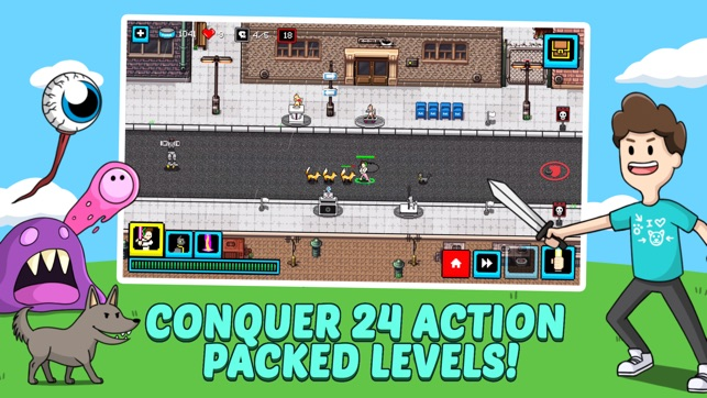 Cats & Cosplay: Tower Defense Screenshot