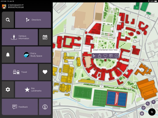 App Campus Map