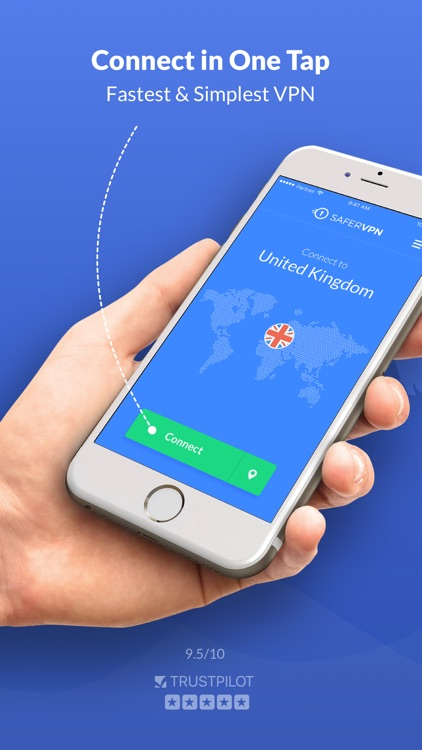 SaferVPN: Safe & fast VPN screenshot-0