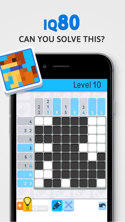 Nonogram - IQ Logic Pic Puzzle screenshot-1