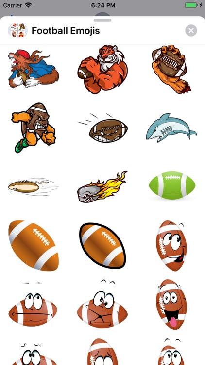 Football Emojis screenshot-6