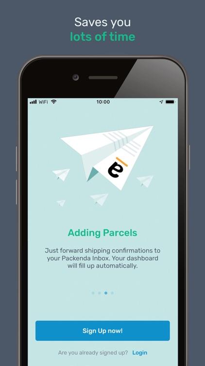 Packenda - Parcel Tracking screenshot-4