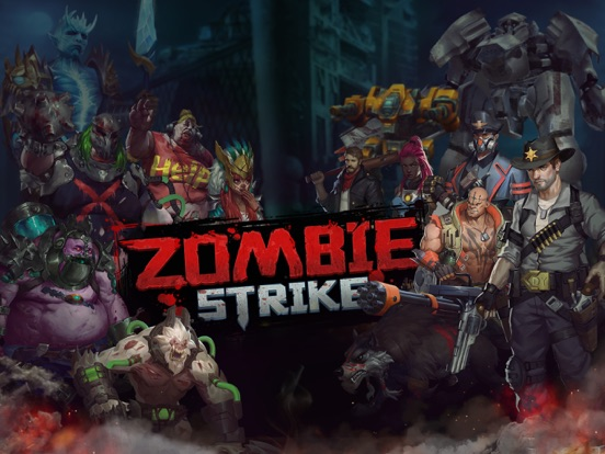 Zombie Strike-Idle Battle SRPG на iPad