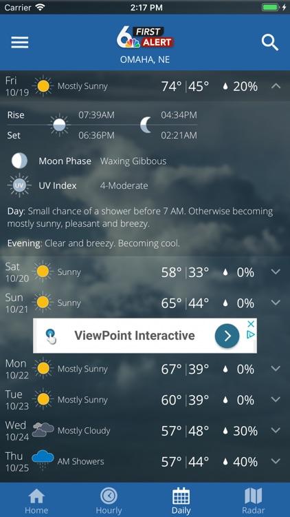 6 News First Alert Weather screenshot-3