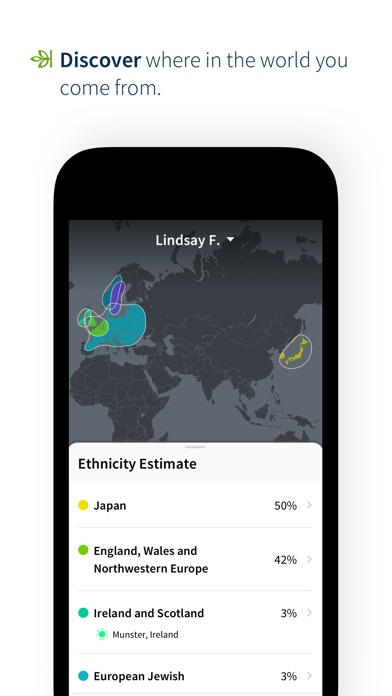 AncestryDNA Screenshot