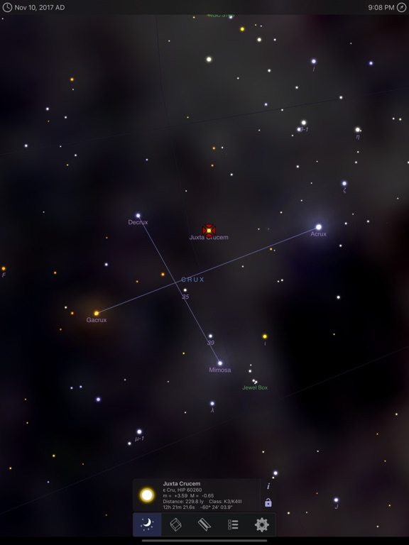 Screenshot #3 for StarMap 3D