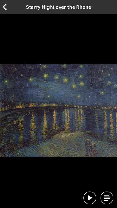 Van Gogh, Starry night screenshot 3