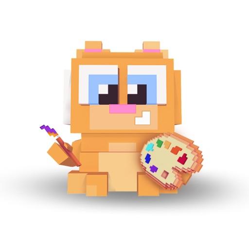 Pixel.Cat: Color by number art