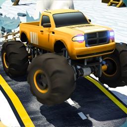 New Monster Truck Stunts Race