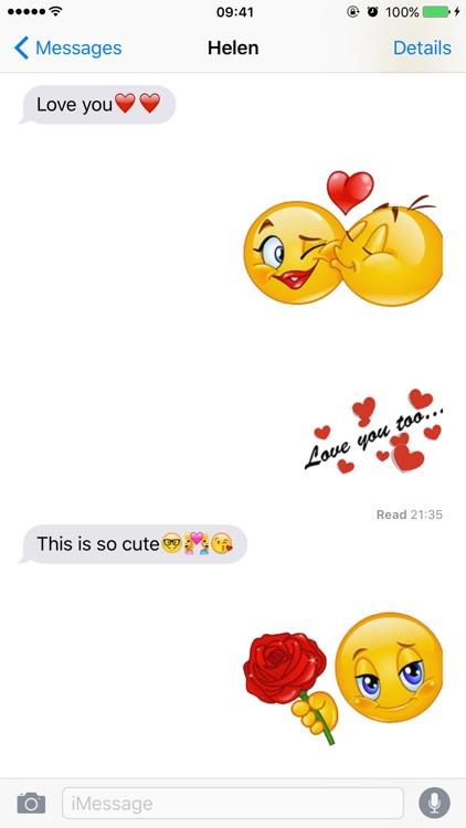 Flirty Emoji Adult Stickers screenshot-3
