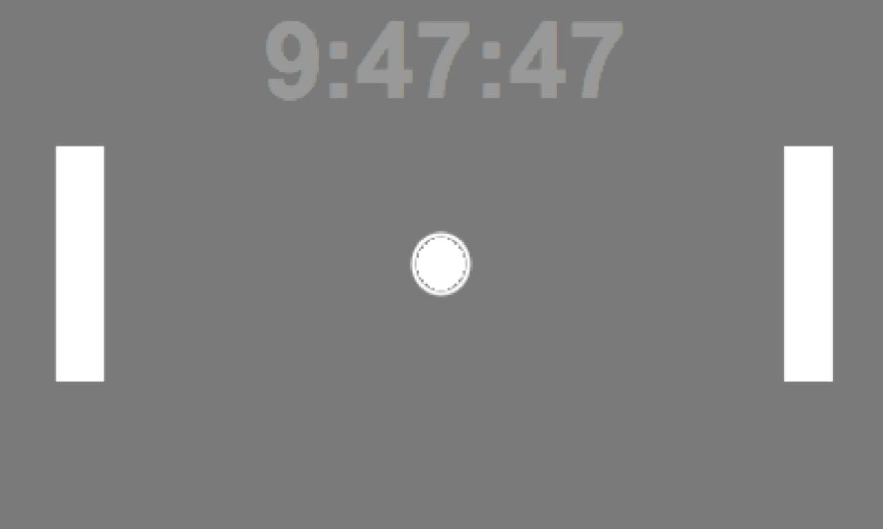 Pong Screensaver