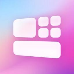 Colorful widget-Custom screen