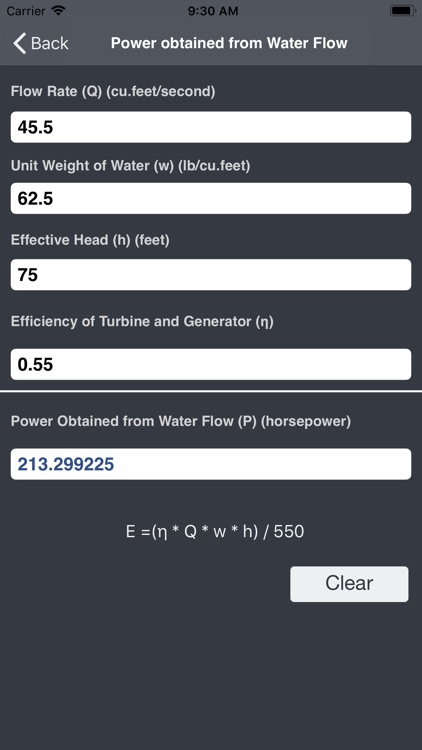 Hydraulics and Waterworks Calc