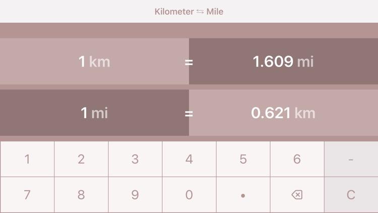 Kilometers to Miles | km to mi screenshot-3