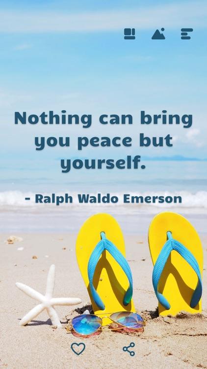 Motivation, Daily Quote Widget