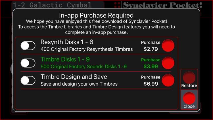 Synclavier Pocket! screenshot-5