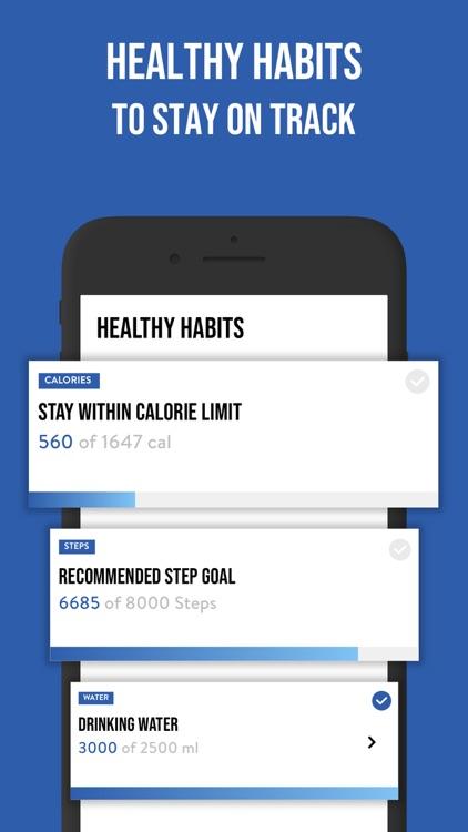 3 Steps Men:  Weight Loss Plan screenshot-5