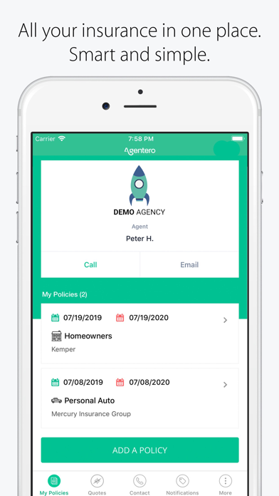CoverPocket Insurance Manager: Save time and money screenshot