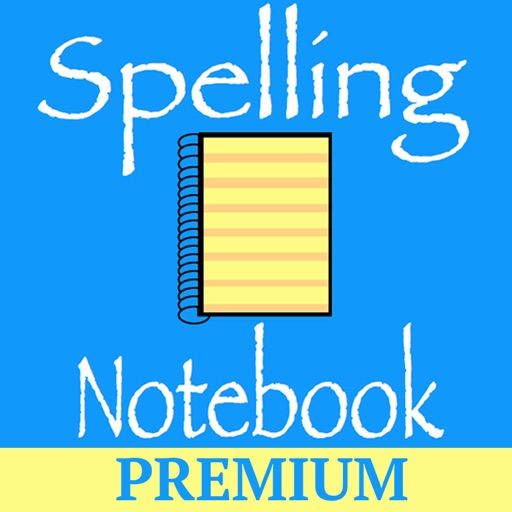 Spelling Notebook Premium