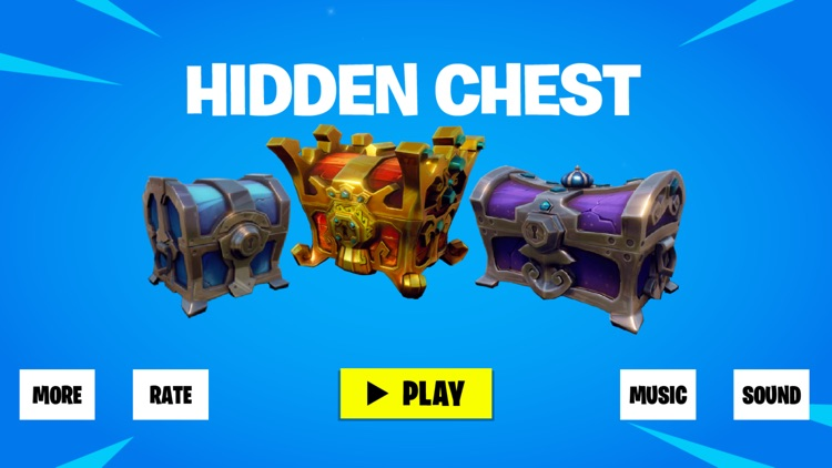 Hidden Chest For Fortnite