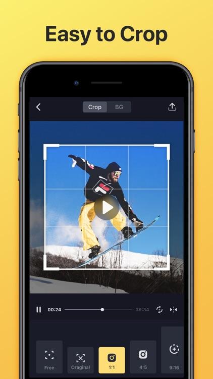 Crop Video - Video Cropper App screenshot-0