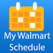 App Icon for My Walmart Schedule App in United States IOS App Store