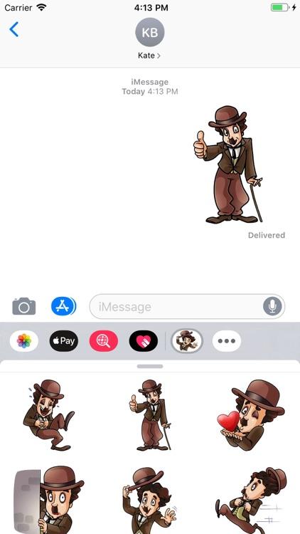 Joker Hat Stickers Pack screenshot-4