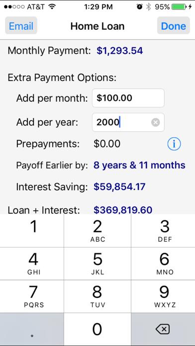 Loan Calculator Pro review screenshots