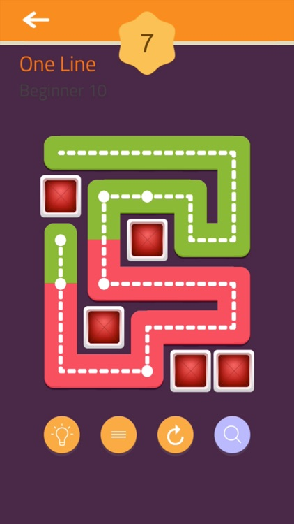 Fill - One Line Puzzle screenshot-7