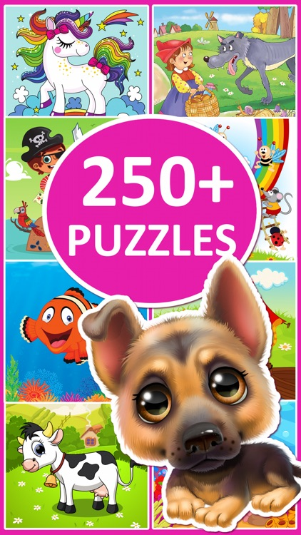 Animal Jigsaw Puzzle Games