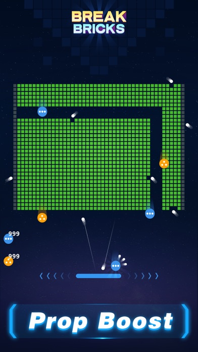 Screenshot for Break Bricks - Ball's Quest in United States App Store