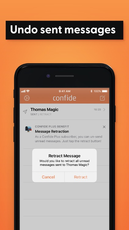 Confide - Private messenger screenshot-6