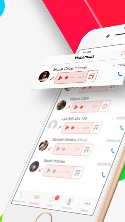 InstaVoice® Visual Voicemail
