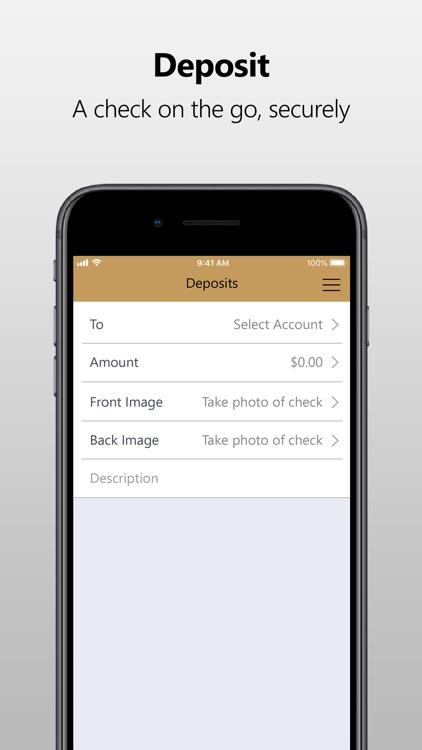 First Heritage Bank Mobile screenshot-4