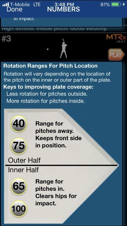 Hitting Metrics - MTRx screenshot-4