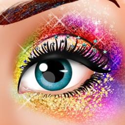 Glitter Makeup Spa Makeover