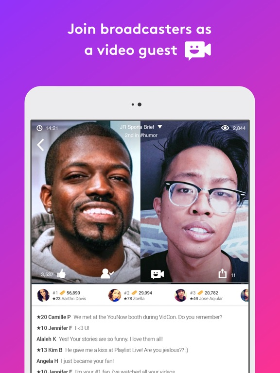 YouNow: Live Stream Video Chat-ipad-2