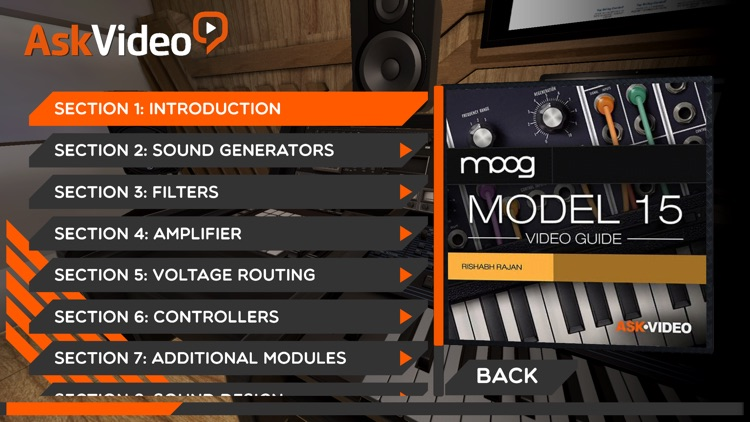 Video Guide For Moog Model 15